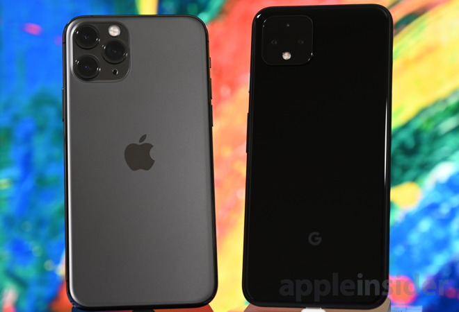 google pixel 4 vs iphone 11