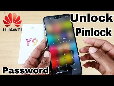 how to unlock huawei phone